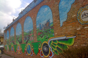 East Nashville Wall Mural