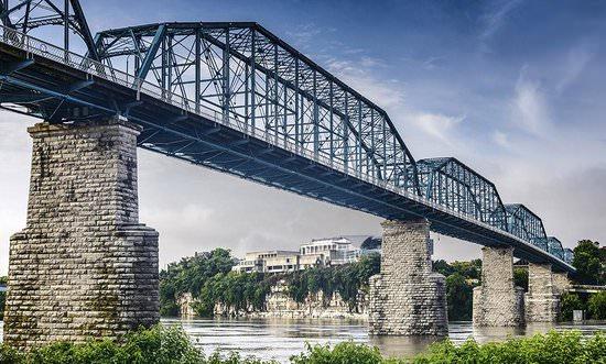 International Womens Day: Chattanooga Walking Bridge
