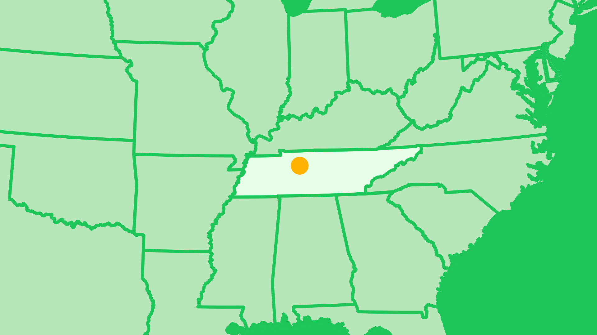 Nashville migration map