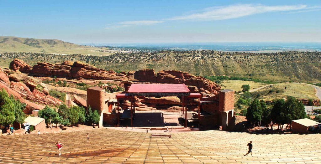 red rock amphitheatre in denver colorado