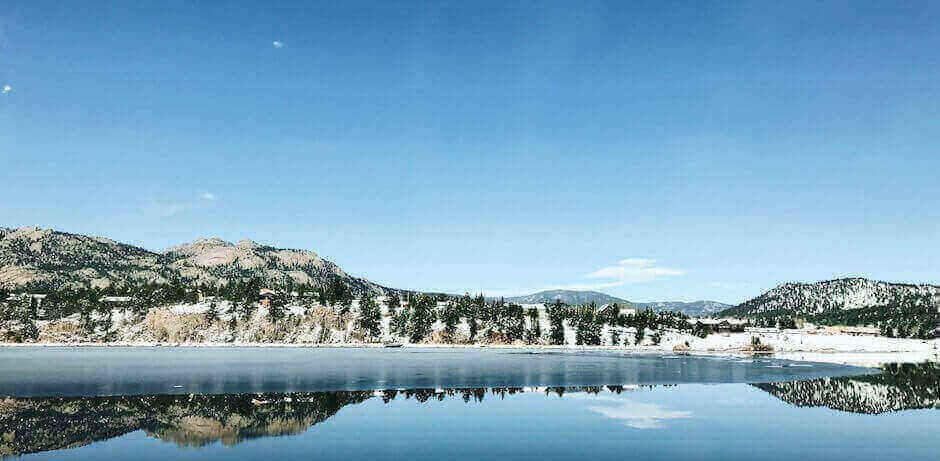 beautiful scenery in Denver, CO